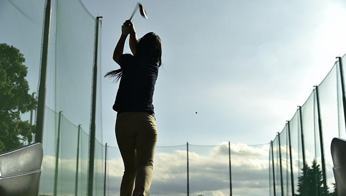 Yokota hosts LPGA golf clinic