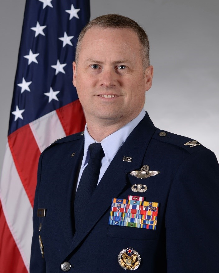 Col Jason T. Mills - Vice Commander