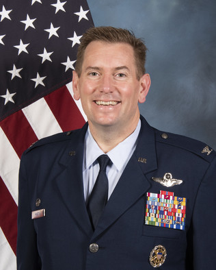 Col. Kevin C. Martin - 374th Operations Group Commander