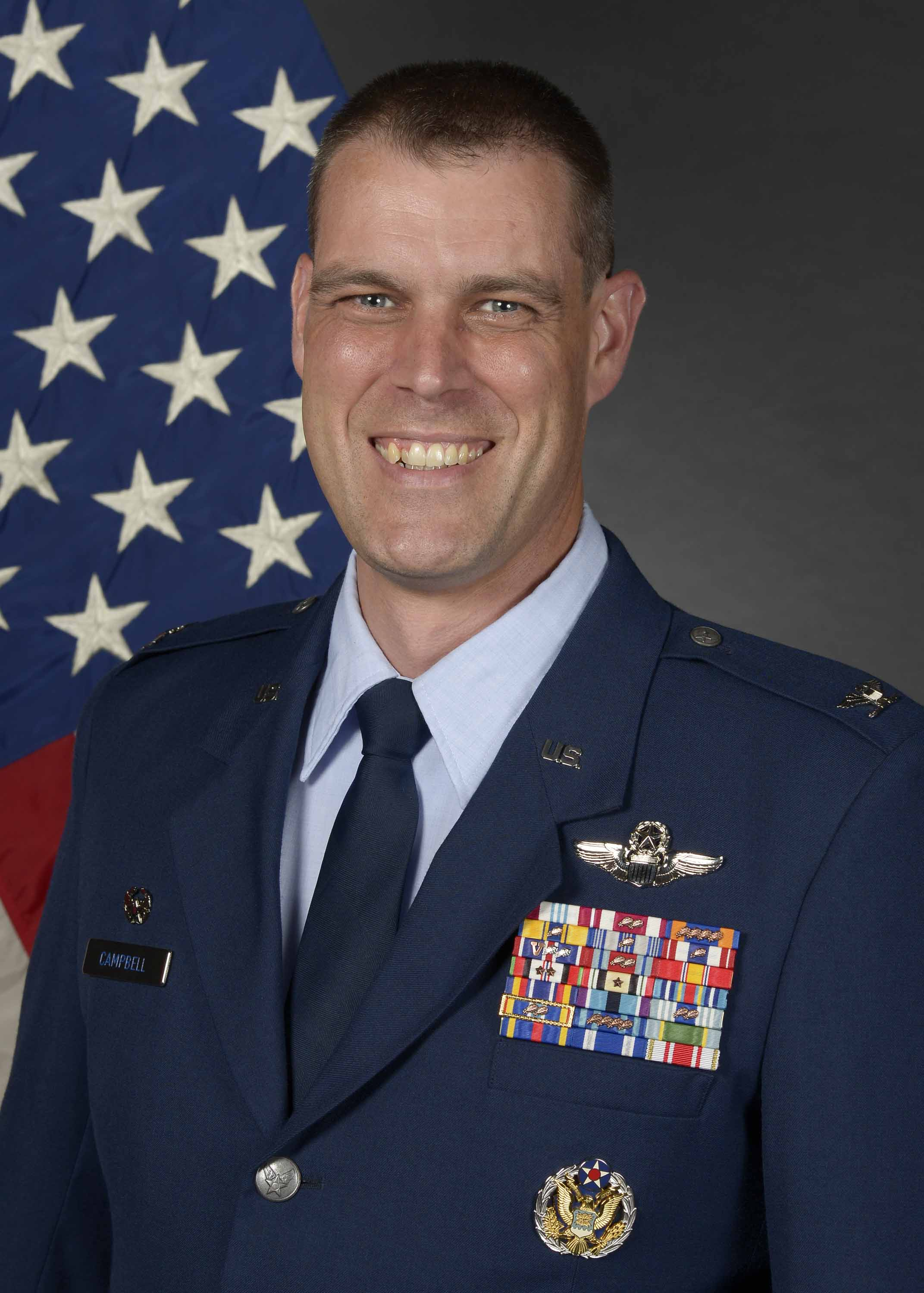 Col Andrew J. Campbell - Commander