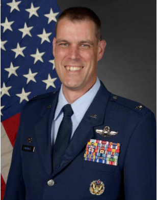 Col Andrew Campbell - Base Commander